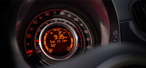 2016 FIAT 500 Electronic Vehicle Information Center